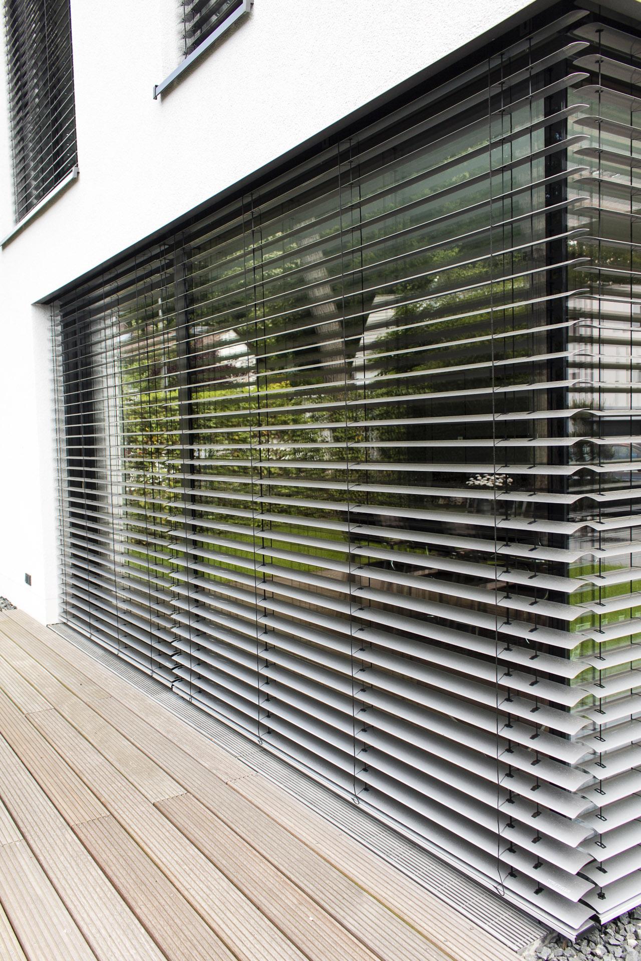 Darmstadt Aluminiumfenster mit Ganzglasecke