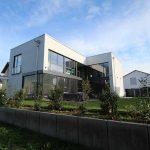 Architektenhaus mit Aluminiumfenstern